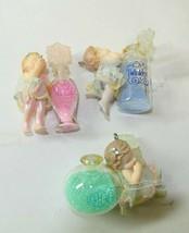 "Hallmark Keepsake Ornaments Cherubs ""Kisses, Twinkles, And Giggles"" Set ... - $14.99"