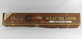 "Vintage Erica Weaving Loom 25"" w/Box Booklets Shuttles Heddle Northfield... - $127.22 CAD"
