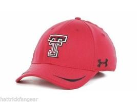 Texas Tech Raiders - Under Armour Ncaa Sideline Team Logo CAP/HAT - Red - L/XL - $18.99