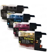 Compatible with Brother LC75XL Combo Pack (BK-C-M-Y) Compatible Premium ... - $22.40