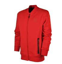 Puma Ferrari Red Sweat Jacket Men's Full Zip Track Top Varsity Jacket - $50.35