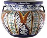 90330 ceramic talavera mexican hand painted planters 1 size1 thumb155 crop