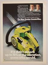 1975 Print Ad Poulan Chain Saws Super XXV Countervibe Automatic Shrevepo... - $11.56