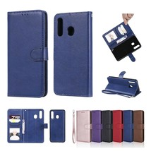 For Samsung Galaxy A70/A50/A30/A20 Removable Leather Flip Card Wallet Case Cover - $55.00