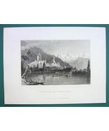 THUN Switzerland & AD for J.L. Brown Scales Maker New York - 1855 Antiqu... - $13.77