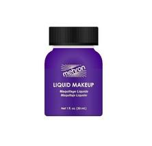 Purple Body and Hair Mehron Liquid Makeup Theatrical  Makeup 1 oz USA - $5.89