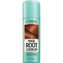 L'oreal Magic Root Cover Up Temporary Gray Concealer Spray - Red - 2 Oz. - $14.99