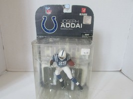 MCFARLANES NFL ACTION FIGURE JOSEPH ADDAI #29 INDIANAPOLIS COLTS 2008   ... - $16.61