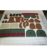 "Cranston MERRY MOOSE DOLL or TOY Cotton PANEL - 57"" x 36"" - $7.43"