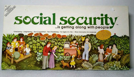 VINTAGE Social Security Board Game RARE Christian Values '76 Family Comp... - £19.62 GBP