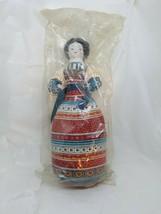Vintage Avon American Heirloom China Head Doll Cloth Body Toy ~~Sealed i... - $10.77