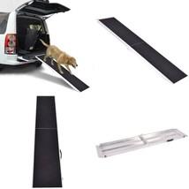 6Ft Portable Aluminum Folding Pet Ramp Ladder - $138.27