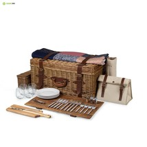 Picnic Time 'Charleston' Premium Picnic Basket with Deluxe Service for Four - €310,49 EUR