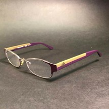 Tory Burch Thin Rimmed Oval Purple Olive Logo Eyeglass Frames TY1037 300... - $41.02
