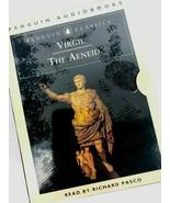 Virgil The Aeneid Audio Cassette Book Read by Richard Pasco Troy 9 Hours - $49.49