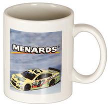 MENARDS RACE CAR COFFEE CUP MUG - Paul Menard Daytona #27 Race Car NEW - $1.98