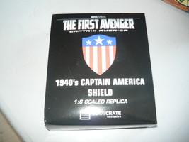 Loot Crate Exclusive 1940's Captain America Shield 1:6 Replica Marvel fi... - $11.98