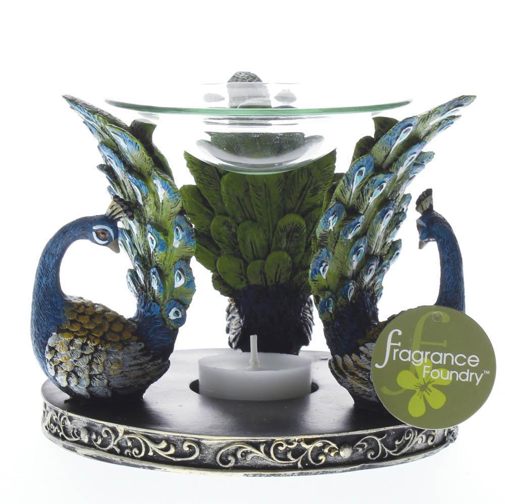Peacock plume oil warmer  3