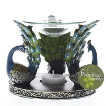 Gorgeous Peacock Plume Oil Warmer - $19.95