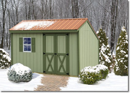 Best Barns Aspen 12x8 Wood Storage Shed Kit - ALL Pre-Cut - $1,779.00