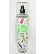 Bath & Body Works VANILLA RAINBOW SPRINKLES Fine Fragrance Mist 8oz NEW - $19.23