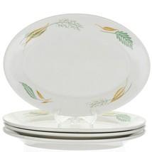 """6 Homer Laughlin Edward Don Leaf & Sprig Classic Restaurant Ware 11"""" Pl... - $49.96"""