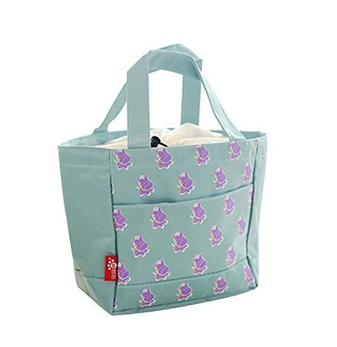 2Pcs WaterProof Large Capacity Lunch Bag/Bags For Children,Blue