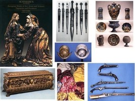 Sothebys NY 1992 EUROPEAN Furniture, Works of Art, ARMS, ARMOR, Tapestri... - $16.81