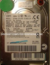 """2.1GB 2.5"""" 12.5MM IDE Drive IBM DTNA-22160 Tested Free US Ship Our Drives Work"""