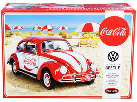 "Skill 3 Snap Model Kit Volkswagen Beetle ""Coca-Cola"" 1/25 Scale Model  - $46.99"