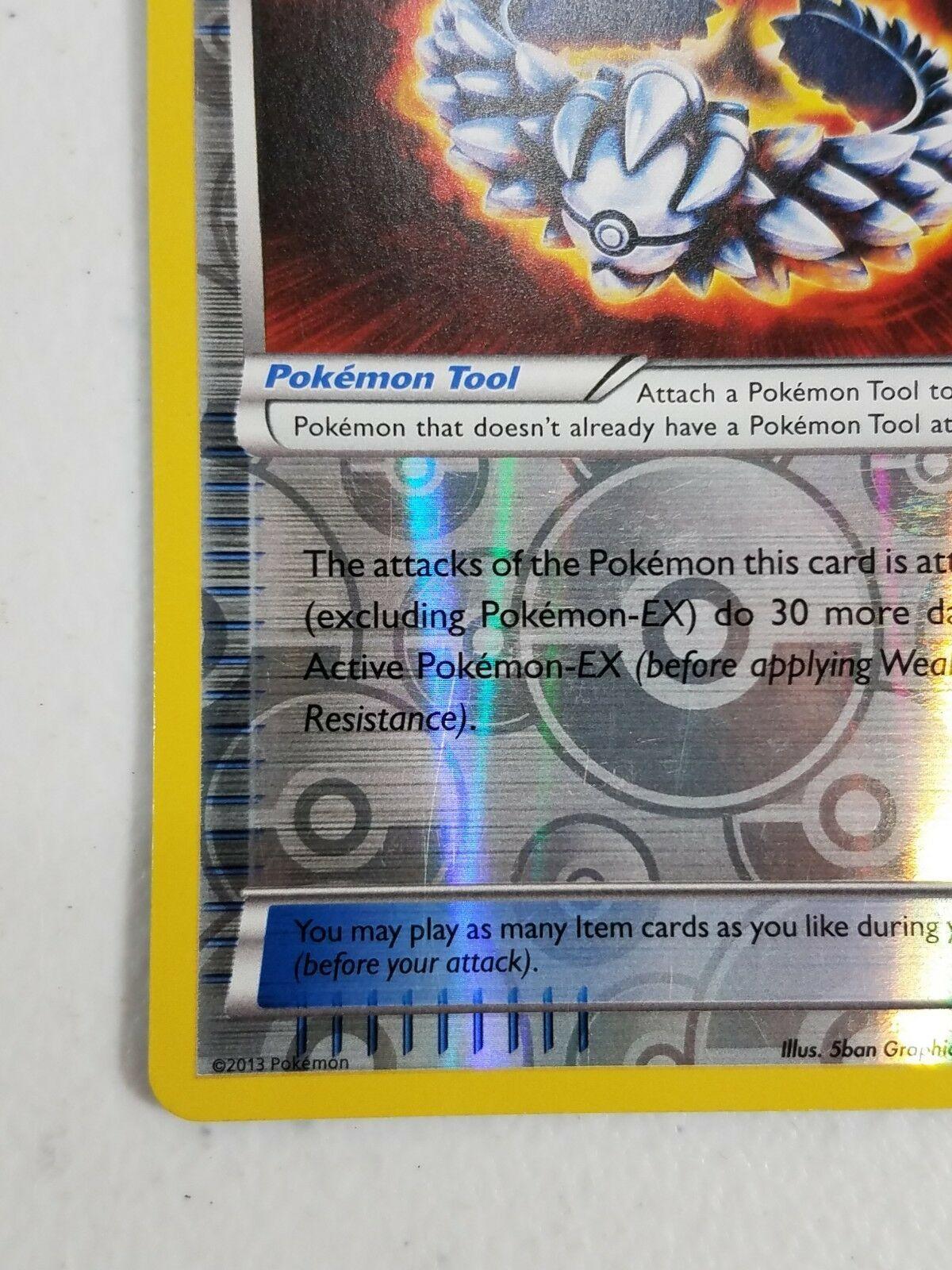 Pokemon Black & White Series Plasma Blast - Silver Bangle (Reverse Holo)
