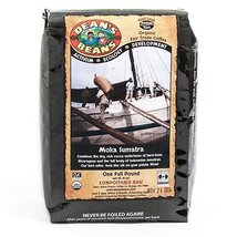 Organic Fair Trade Moka Sumatra Whole Bean Coffee (16 ounce) - $15.99