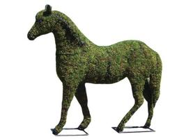 "Horse 20"", 30"", 41"", 57"" and 81"" Topiary Sculpture - Wire Frame or Moss ... - $73.82+"