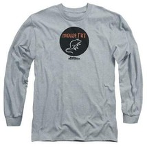 Mouse Rat T-shirt band Parks and Recreation comedy TV long sleeve tee NBC901 image 2