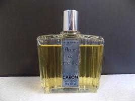 VINTAGE EDT CARON Fleurs de Rocaille 4oz Eau de Toilette 120ml FRANCE 90... - $61.75