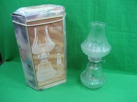 Vintage Lamplight Farms ~ Bordeaux Oil Lamp ~ USA - $26.14