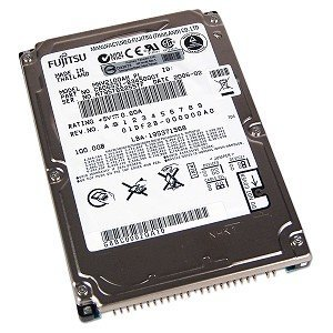 "Fujitsu 100GB UDMA/100 5400RPM 2.5"" 9.5mm Notebook Hard Drive"