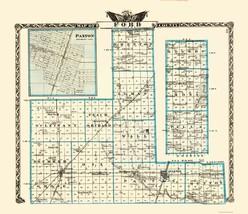 Ford Illinois Landowner - Warner 1870 - 23 x 26.64 - $36.95+