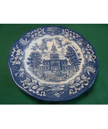 Beautiful AVON Collector Plate INDEPENDENCE HALL Enoch Wedgwood-England - $7.59