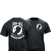 POW MIA Black Graphic T-Shirt - $22.76+