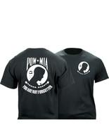 POW MIA Black Graphic T-Shirt - $22.76+