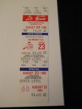 1982 Atlanta Braves vs. Philadelphia Phillies Full Unused Ticket Stub (S... - $9.49