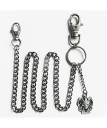 Royal Flush Poker Skull  Key Chain Jeans Wallet Key Chain - $9.79