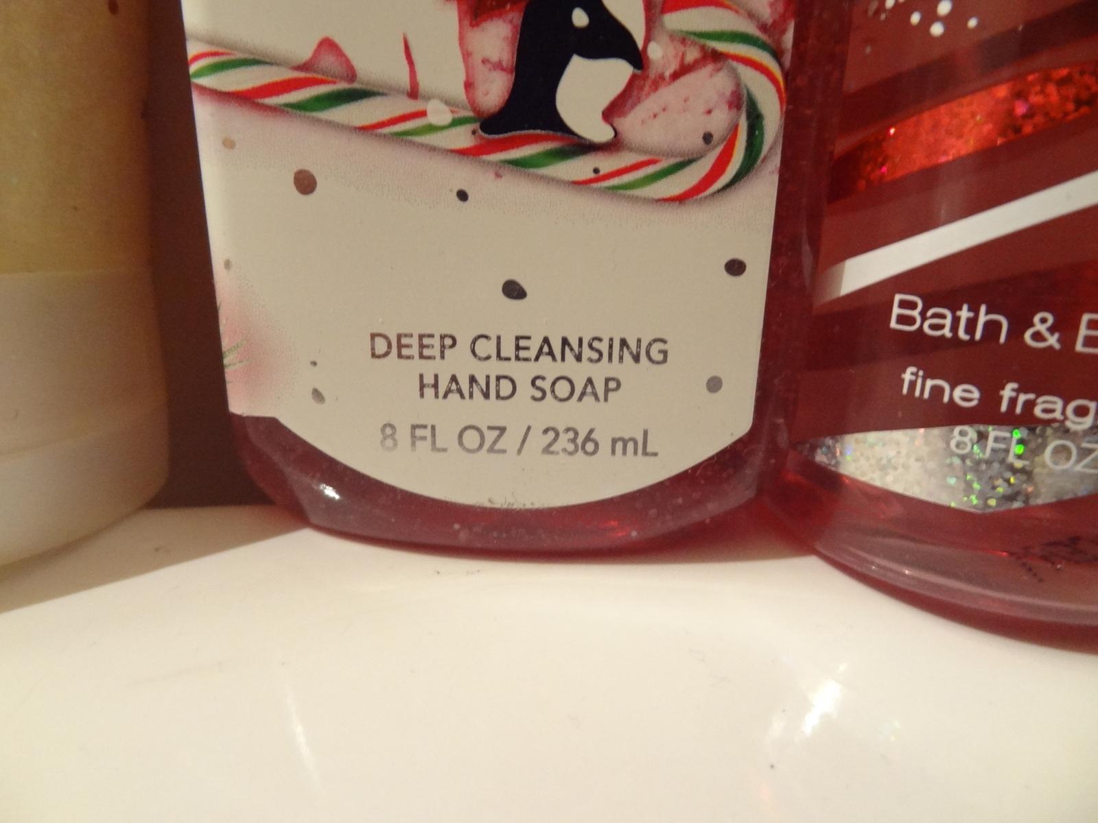 BATH & BODY WORKS SET OF 3 TWISTED PEPPERMINT FRAGRANCE MIST SCRUB HAND SOAP NEW