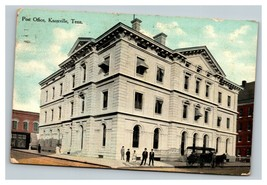Vintage 1910's Colorized Photo Postcard Post Office Knoxville Tennessee - $15.81