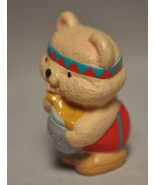 Hallmark  Indian Bear Honey Pot  QFM 8162  Merry Miniature - $9.20
