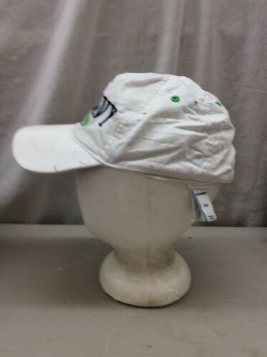 Trucker Hat Baseball Cap Vintage OLD NAVY NY CA KIDs L/G/G White fitted Retro image 2