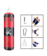 Heavy Boxing Punching Bag Speed Training Kicking Workout W/ Chain Hook - $22.29+