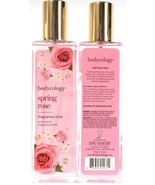 2 Bottles Bodycology 8 Oz Spring Rose Wild Rose & Magnolia Petals Fragra... - $20.99