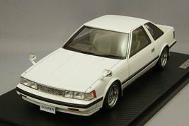 Ignition Model IG1377 1/18 Toyota Soarer 2800GT Z10 White SSR Mk.III Type Wheels - $382.88